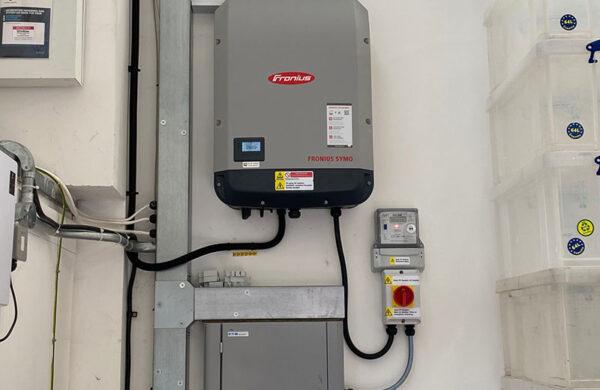 Seacat Services Inverter JA Solar PV