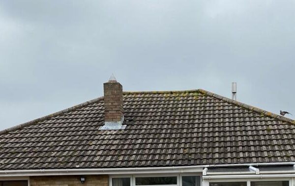 House Roof Before Island Renewables Solar panels fitted