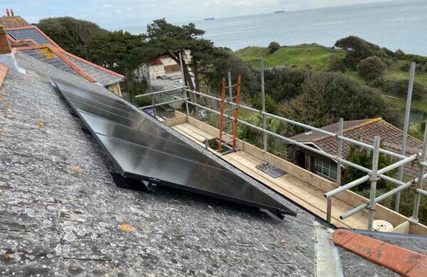solar panel install island renewables