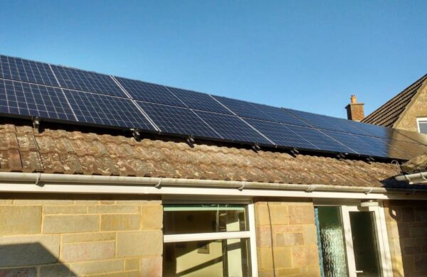Solar pv roof system freshwater isle of wight
