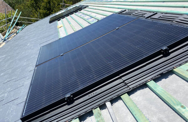 Solar Panel fitting on roof Freshwater isle of wight