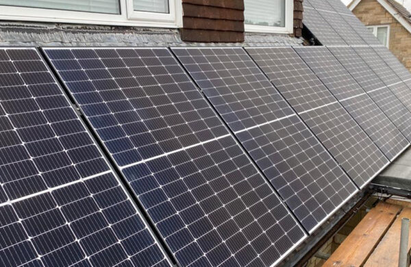 Solar panels colwell isle of wight fitted by island renewables