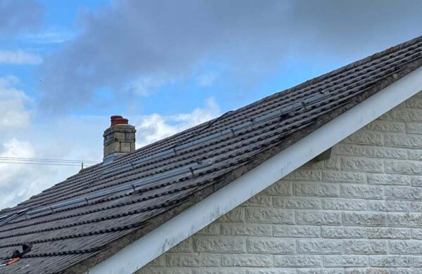 Before solar panels were fitted to a roof in niton isle of wight
